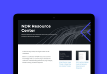 NDR resource center