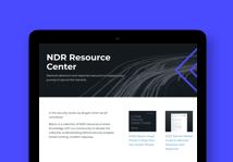 NDR resource center