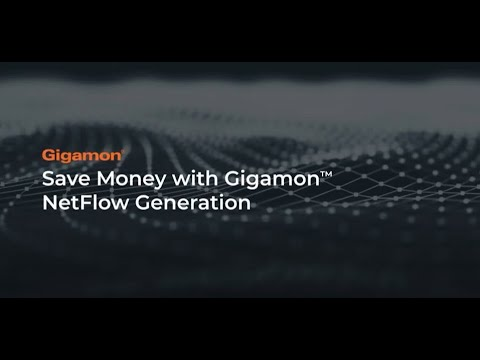 Gigamon can result in a 95 percent reduction in traffic sent to tools that use NetFlow.
