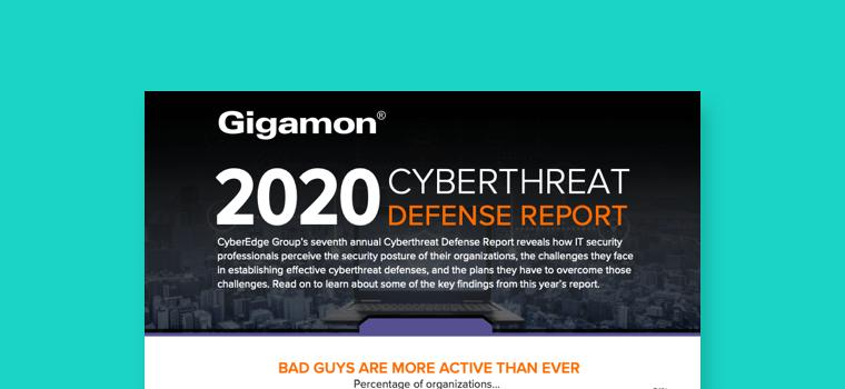 Cyberthreat Defense Report Infographic