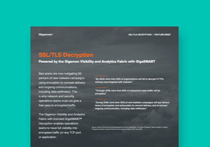 SSL/TLS decryption